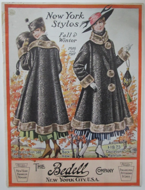 New York Styles. Fall and Winter 1916 and 1917. Catalog by The Bedell Company. No author Given.