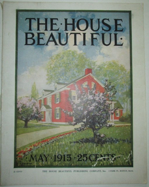 The House Beautiful. May 1915. authors.