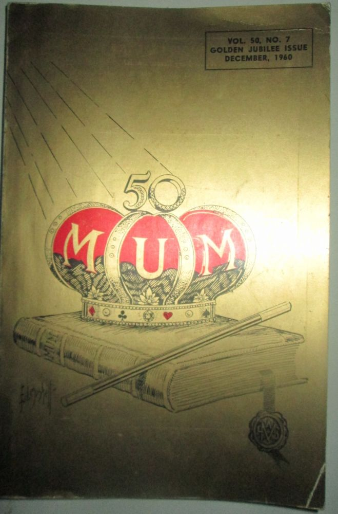 M-U-M. Golden Jubilee Issue. December, 1960. Various authors.