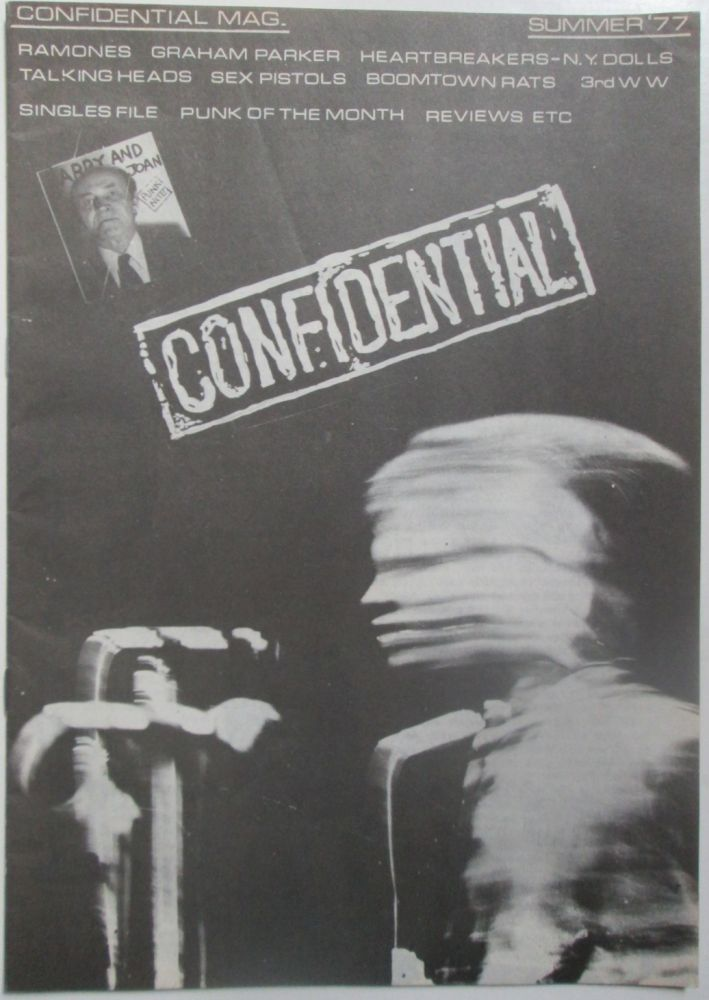 Confidential. Summer '77. (Issue 1). Pete Nic, authors Kally.