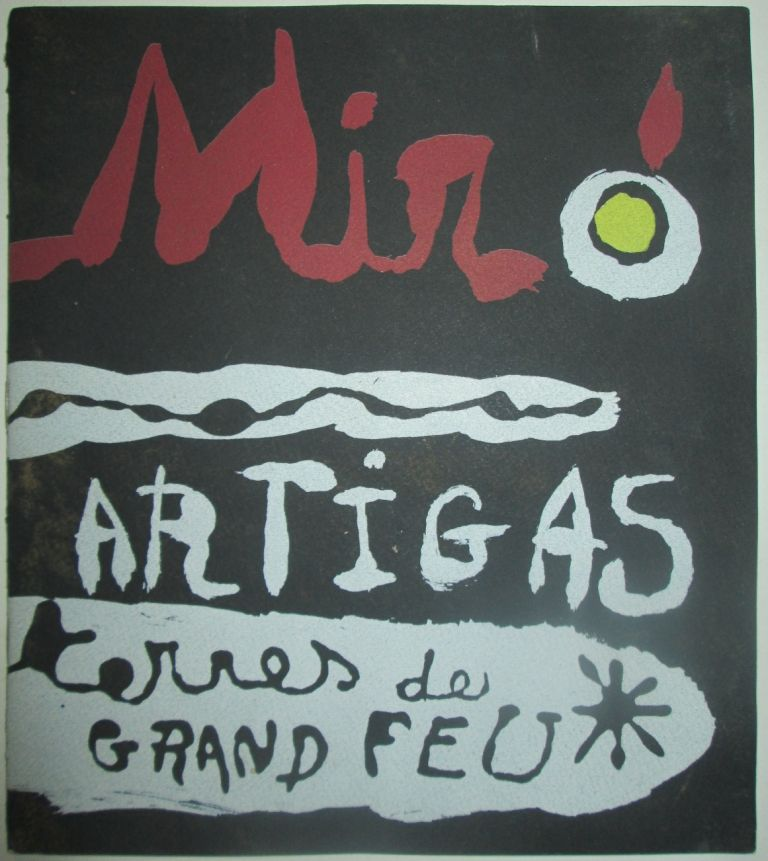 Sculpture in Ceramic by Miro and Artigas. December, 1956. Joan . No author given Miro, artist.