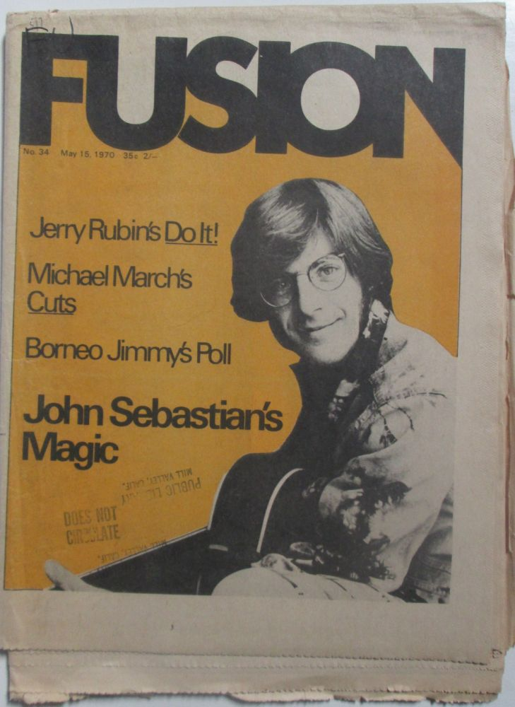Fusion. May 15, 1970. Authors.