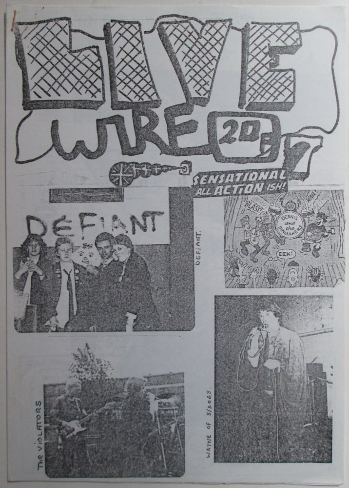 Live Wire (Livewire) Number 7. July, 1977. Alan Anger.
