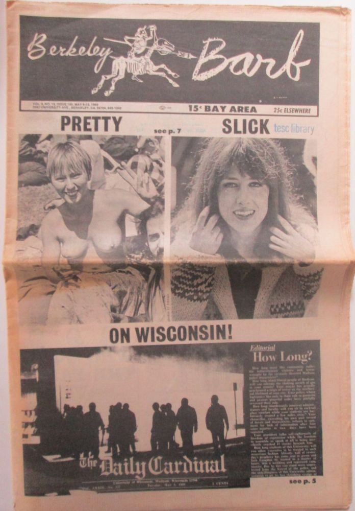 The Berkeley Barb. May 9-15, 1969. authors.