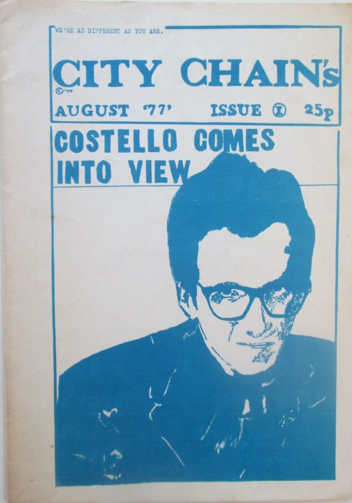 City Chain's. Issue 1. August '77. Chig.
