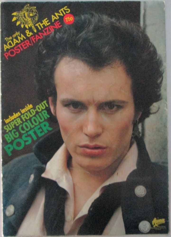 The Only Adam and the Ants Poster/Fanzine. Given.