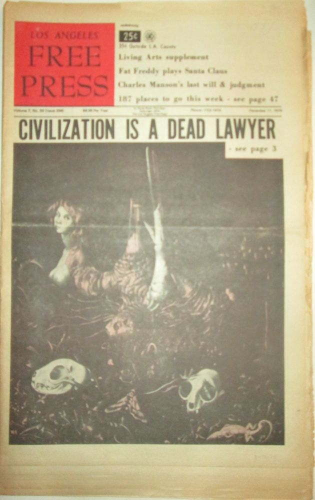 Los Angeles Free Press. December 11, 1970. Parts I, II and III Complete. authors.