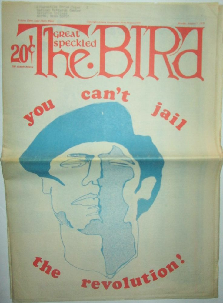 The Great Speckled Bird. Monday, August 17, 1970. authors.