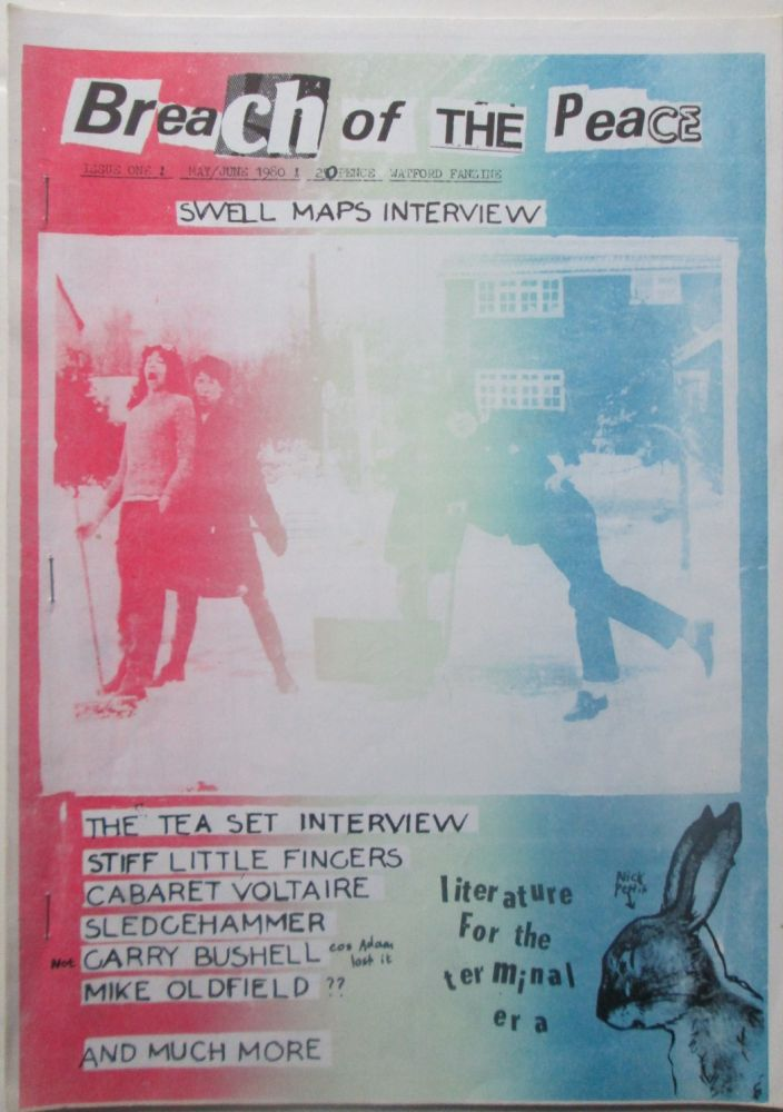 Breach of the Peace. Issue One. May/June 1980. given.