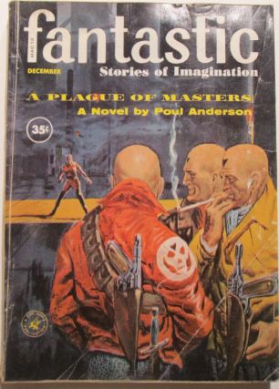 Fantastic. Stories of Imagination. December 1960. Vol. 9 No. 12. Poul Anderson.