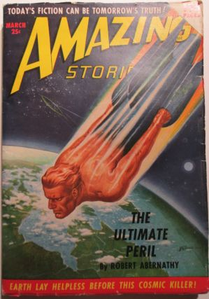 Amazing Stories. March 1950. Volume 24, No. 3. Robert Abernathy, H. B. Hickey, Ward Moore