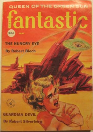 Fantastic Science Fiction. Volume 8, Number 5. May, 1959. Robert Bloch, Rog Phillips.