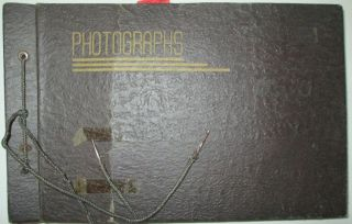 World War II Photo Album from a US Soldier, Joseph F. Strokoskas, apparently serving in the...