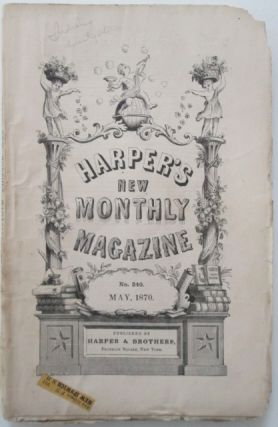 Harper's New Monthly Magazine. May 1870. Authors