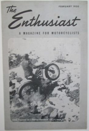 The Enthusiast. A Magazine for Motorcyclists. February, 1950. Authors