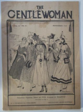 The Gentlewoman. November, 1916. Authors