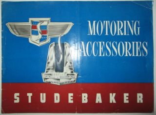 Studebaker Motoring Accessories Catalog. Given