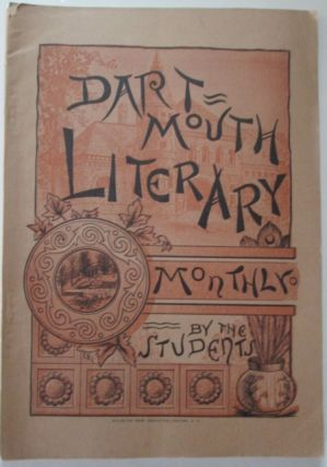 Dartmouth Literary Monthly. December, 1891. Vol. VI. No. 4. F. J. Allen, John H. Nutt