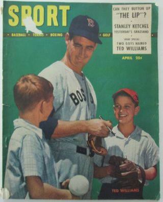 Sport. The Magazine for Sport Spectators. April, 1948. With An Article on Ted Williams. Various authors.