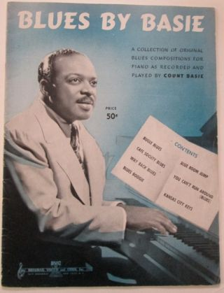 Blues by Basie. Count Basie, musician