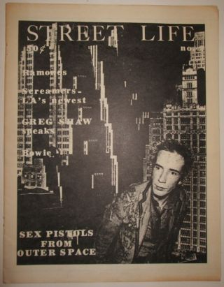 Street Life. Vol 2. No. 2. Lisa Fancher, Bob Morris, assistant