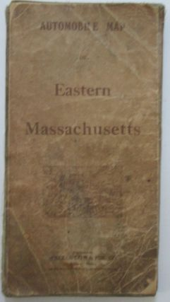Automobile Map of Eastern Massachusetts. Given