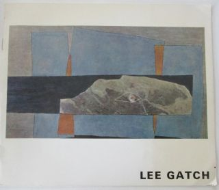 Lee Gatch, Recent Paintings. Lee Gatch, artist.
