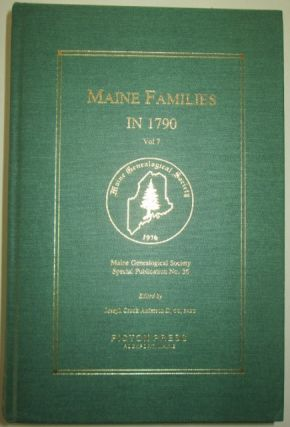 Maine Families in 1790. Vol. 7. Ruth Gray