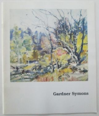 Symons, Gardner (artist). Gardner Symons (1861-1930). Small Paintings. Warren Adelson, introduction.