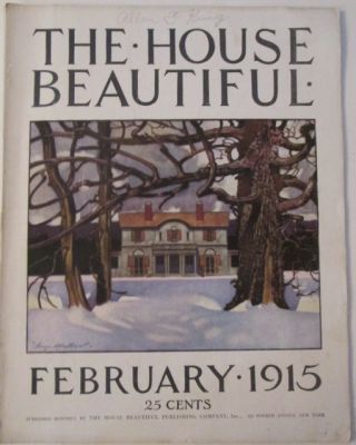 House Beautiful. February 1915. authors.