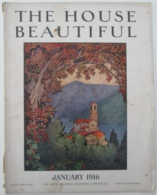 The House Beautiful. January 1916. authors.