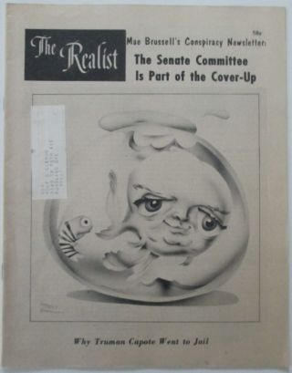 The Realist. No. 95. December, 1972. Paul Krassner, S. Clay . Various Authors Wilson, artist.