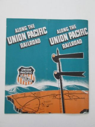 Along the Union Pacific Railroad. The Overland Trail and the Union Pacific Railroad. given