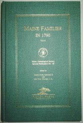 Maine Families in 1790. Vol. 4. Ruth Gray