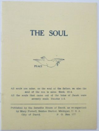 The Soul. No author Given