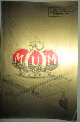 M-U-M. Golden Jubilee Issue. December, 1960. authors