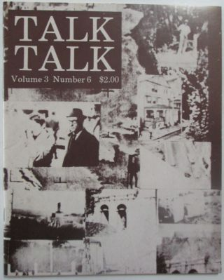 Talk Talk Volume 3 Number 6. Autumn, 1981. William Burroughs