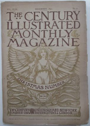 The Century Illustrated Monthly Magazine. December, 1891. Christmas Number. William Tecumseh Sherman, Rudyard Kipling.