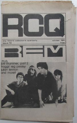 RCQ. Record Collector's Quarterly. Issue 13. Winter 1984. authors