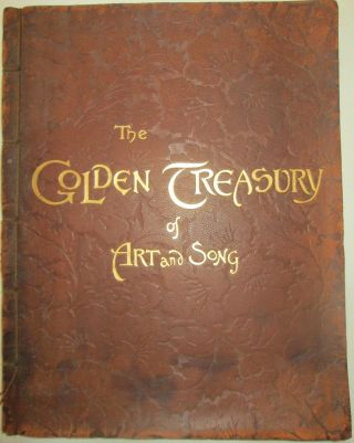 The Golden Treasury of Art and Song. Helen Maud Waithman, Alice Reed