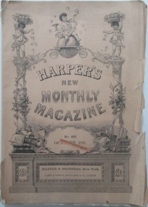 Harper's New Monthly Magazine. October, 1891. authors
