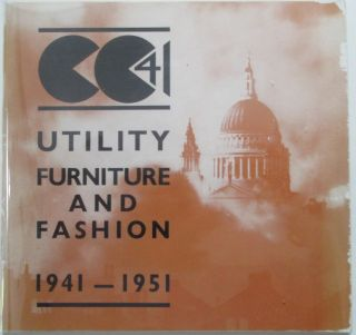 CC 41. Utility Furniture and Fashion 1941-1951. given