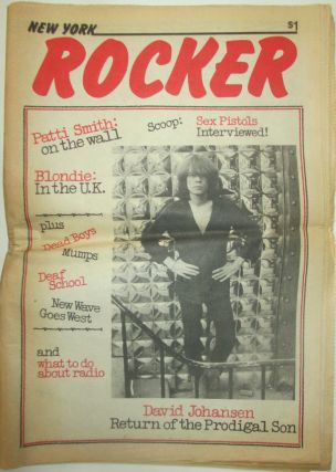 New York Rocker. Volume 1, Number 8. July-August 1977. Authors