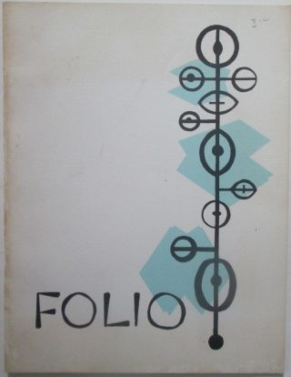 Folio. No issue designation given. 1958. Authors