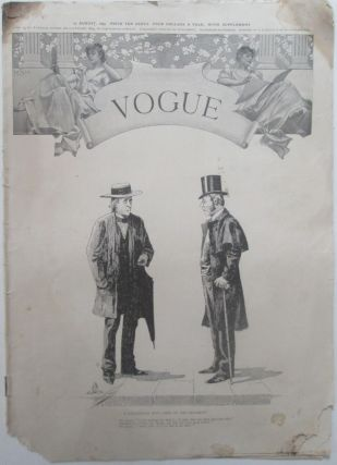 Vogue. 19 August, 1893. Vol. II., No. 8. authors
