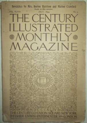 The Century Illustrated Monthly Magazine. July, 1894. Antonin Dvorak, Thomas Gaskell Allen,...
