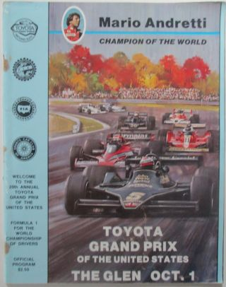 Toyota Grand Prix of the United States. Welcome to the 20th Annual Toyota Grand Prix of the...