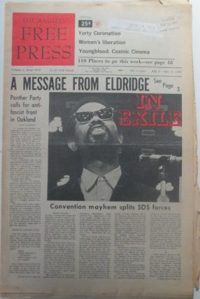 Los Angeles Free Press. July 4-11, 1970. Parts 1 and 2, complete. Eldridge Cleaver, Marshall...