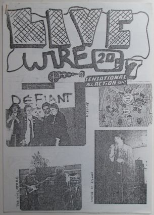 Live Wire (Livewire) Number 7. July, 1977. Alan Anger