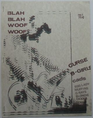 Blah Blah Woof Woof. No. 1. May, 1978. Ralph Alfonso